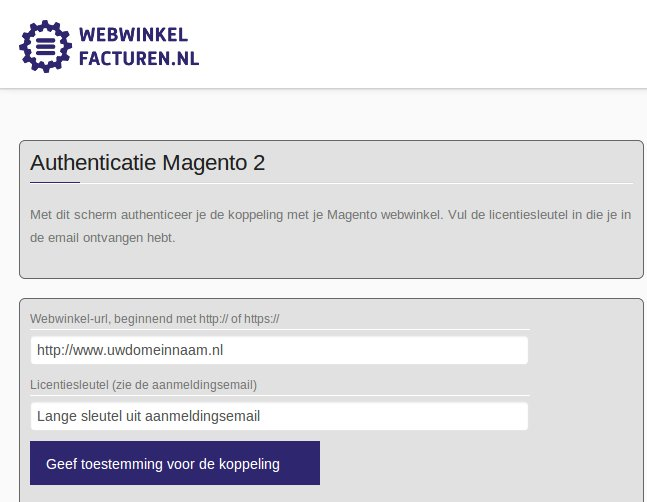 Authenticatie informatie
