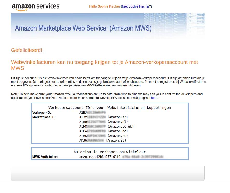 Plaatje Amazon Sleutels